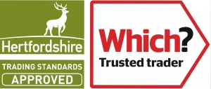 Which Trusted Trader, Hetfordshire Trading Standards Approved